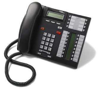 The Nortel T7316e, replaced by the Avaya 1416.